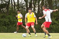 SÃO PAULO, SP, 18.08.2015 - FUTEBOL-SÃO PAULO -  Daniel durante treino do São Paulo Futebol  no Centro de Treinamento da Barra Funda, na manhã desta terça-feira (18). (Foto: Adriana Spaca/Brazil Photo Press)