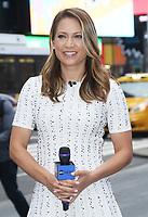 Ginger Zee on the set of Good Morning America