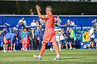 Huddersfield Town's Jonathan Hogg applauds the fans at the final whistle <br /> <br /> Luke Brennan/CameraSport<br /> <br /> The EFL Sky Bet Championship - Queens Park Rangers v Huddersfield Town - Saturday 10th August 2019 - Loftus Road - London<br /> <br /> World Copyright © 2019 CameraSport. All rights reserved. 43 Linden Ave. Countesthorpe. Leicester. England. LE8 5PG - Tel: +44 (0) 116 277 4147 - admin@camerasport.com - www.camerasport.com