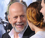 Bruce Willis and Rumer Willis at The Paramount Pictures' L.A. Premiere of G.I. Joe : Retaliation held at The Grauman's Chinese Theater in Hollywood, California on March 28,2013                                                                   Copyright 2013 Hollywood Press Agency