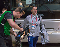 , FL - : Vlatko Andonovski of the United States walks into the stadium during a game between  at  on ,  in , Florida.