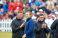 Jordan Spieth (USA) after the final round of The Open Championship 146th Royal Birkdale, Southport, England. 23/07/2017.<br /> Picture Fran Caffrey / Golffile.ie<br /> <br /> All photo usage must carry mandatory copyright credit (&copy; Golffile | Fran Caffrey)