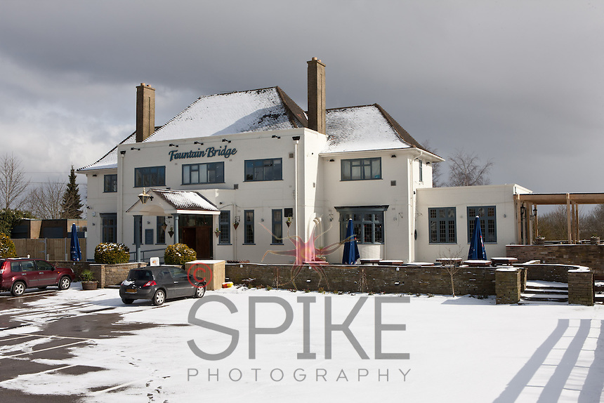 The Fountain Bridge pub in Sutton in Ashfield owned by Michael Perry