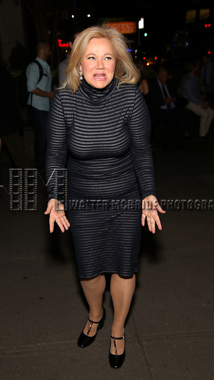"Caroline Rhea attends the Off-Broadway Opening Night performance of  ""Love, Love, Love""  at the American Airlines Theatre on October 16, 2016 in New York City."