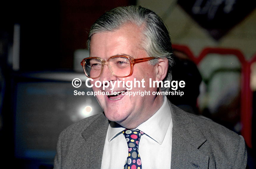 Kenneth Baker, MP, Conservative Party, UK, former education minister, former party chairman, annual conference, October 1994, 19941005KB2<br />