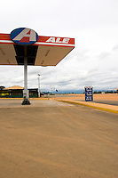 Service station on the Estrada Real outside Serra do Cipó National Park, Minas Gerais, Brazil, South America, 2007, © Stephen Blake Farrington