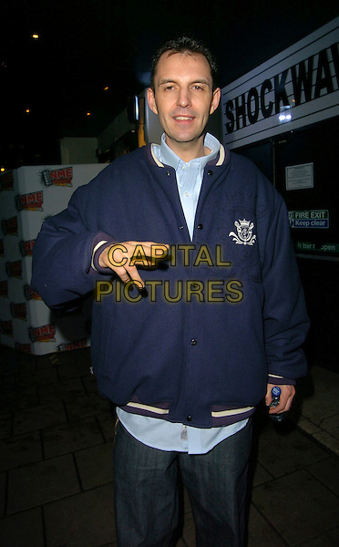 TIM WESTWOOD.At the NME Awards After Show Party, .Hammersmith Palais, London, England, .February 23rd 2006..half length fingers gesture funny.Ref: CAN.www.capitalpictures.com.sales@capitalpictures.com.©Can Nguyen/Capital Pictures