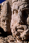 Carved figures on nemrut mountain