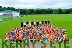 Cul Camp : The children who participated in the Cul camp at Listowel Emmets GAA club pictured on Friday last.