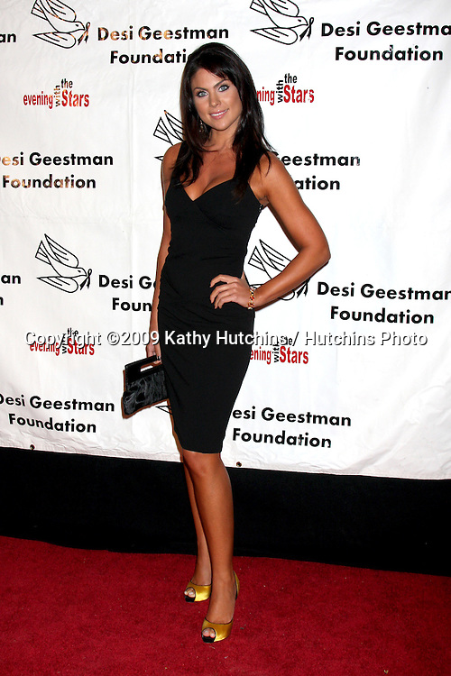 Nadia Bjorlin.2009 Evening with the Stars Celebrity Gala for the Desi Geestman Foundation.Gilmore Adobe at Farmer's Market.Los Angeles,  CA.October 10,  2009.©2009 Kathy Hutchins / Hutchins Photo.