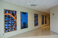 Commercial Projects and Works sold - Large vertical bridge images on high gloss aluminum plate - Consol Energy Center Pittsburgh PA. Finished size 48 x 72.