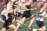 Santa Barbara, CA 02/18/12 - Maddie Garcia (Colorado State #1) in action during the UC Davis - Colorado State game at the 2012 Santa Barbara Shootout.  Colorado State defeated UC Davis 10-9.