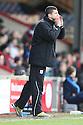 Injured midfielder John Mousinho of Stevenage shouts instructions for managerless Stevenage. Scunthorpe United v Stevenage - npower League 1 - Glanford Park, Scunthorpe - 21st January, 2012. © Kevin Coleman 2012