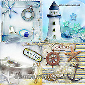 Isabella, MODERN, MODERNO, paintings+++++,ITKE045612-KART-GN,#n# maritime lighthouse ,everyday