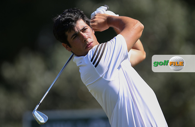 Adrian Otaegui (ESP) drives the first during Round One of the Africa Open 2015 at the East London Golf Club, East London, Eastern Cape, South Africa. Picture:  David Lloyd / www.golffile.ie. 05/03/2015