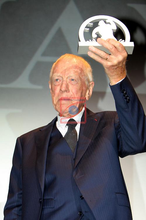 49 Festival Internacional de Cinema Fantastic de Catalunya-Sitges 2016.<br /> Premio Honorifico Max Von Sydow.