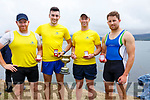The Callinfercy Senior Mens Crew who took gold at the Valentia Regatta on Monday pictured l-r; James O'Sullivan, Padraig O'Sullivan, James Foley, Mike Quirke & missing from photo Cox John Joe O'Sullivan, Valentia claimed second place followed in by Cromane in third.