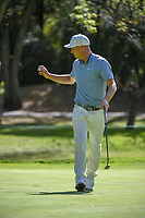 Alex Noren (SWE) after sinking his putt on 2 during round 1 of the World Golf Championships, Mexico, Club De Golf Chapultepec, Mexico City, Mexico. 2/21/2019.<br /> Picture: Golffile | Ken Murray<br /> <br /> <br /> All photo usage must carry mandatory copyright credit (© Golffile | Ken Murray)