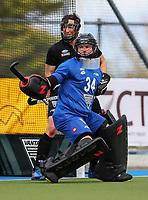 Leon Hayward. International Hockey, Blacksticks Men v Japan, TET Multisport Centre, Stratford, New Zealand. Saturday 12 October 2019. Photo: Simon Watts/www.bwmedia.co.nz/HockeyNZ
