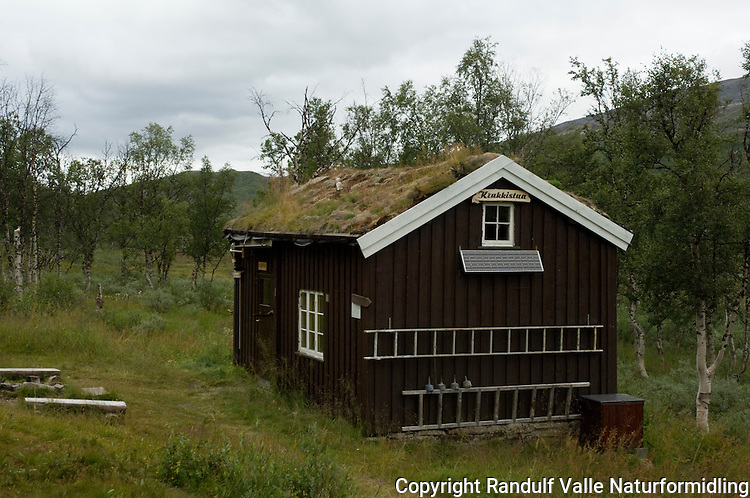 Krukkistua på Saltfjellet ---- The cabin Krukkistua at Saltfjellet