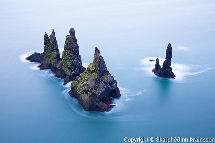 Reynisdrangar in M&yacute;rdalur<br /> South Iceland