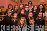 The Sneem team who took part in the county finals of the Community Games Choir competition in Rathmore Community Centre on Sunday were Sadie Knightly, Conor O'Brien, Nora Mulvihill, Niamh De Jong, Saoirse Kavanagh, Stacey Richter, Rachel Looney, Mickeala Mulcahy, Aicha Van Daele, Nikita Richter, Danial Riordan, Millie Reilly, Molly Knightly and Stephanie O'Sullivan.