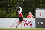 Golfer Kristen Farmer of Australia during the 2017 Hong Kong Ladies Open on June 9, 2017 in Hong Kong, China. Photo by Chris Wong / Power Sport Images
