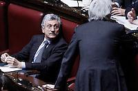 Massimo D'Alema..Roma 12/1/2012  Informativa urgente del Governo alla Camera dei Deputati,  sugli sviluppi recenti e le prospettive della politica europea..Foto Insidefoto  Serena Cremaschi.............