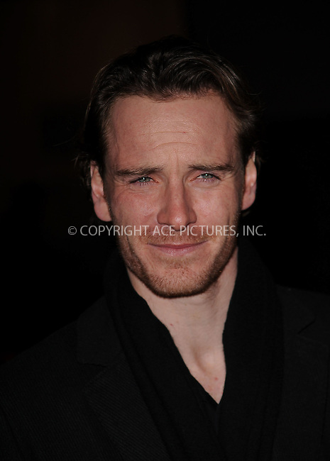 WWW.ACEPIXS.COM . . . . . ....January 11 2010, New York City....Actor Michael Fassbender arriving at the 2009 New York Film Critic's Circle Awards at Crimson on January 11, 2010 in New York City....Please byline: KRISTIN CALLAHAN - ACEPIXS.COM.. . . . . . ..Ace Pictures, Inc:  ..(212) 243-8787 or (646) 679 0430..e-mail: picturedesk@acepixs.com..web: http://www.acepixs.com