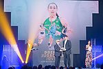 Carlos Cazorla picks up the Best Young Female Player Award for Mayte Cazorla during the first edition of Spanish Basketball Awards. July 25, 2019. (ALTERPHOTOS/Francis Gonzalez)