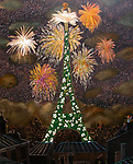 """100th Anniversary Eiffel Tower""<br />