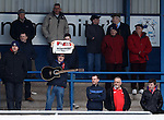 Yay, Stirling fans at Montrose...!
