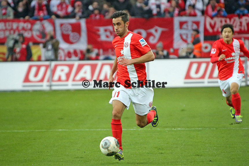 Yunus Malli (Mainz) - 1. FSV Mainz 05 vs. Eintracht Frankfurt, Coface Arena, 12. Spieltag