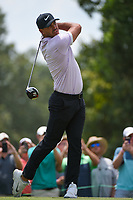Brooks Koepka (USA) watches his tee shot on 9 during round 3 of the WGC FedEx St. Jude Invitational, TPC Southwind, Memphis, Tennessee, USA. 7/27/2019.<br /> Picture Ken Murray / Golffile.ie<br /> <br /> All photo usage must carry mandatory copyright credit (© Golffile | Ken Murray)