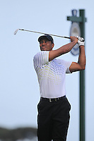 Tiger Woods (USA) tees off the 8th tee during Saturday's Round 3 of the 94th PGA Golf Championship at The Ocean Course, Kiawah Island, South Carolina, USA 10th August 2012 (Photo Eoin Clarke/www.golffile.ie)