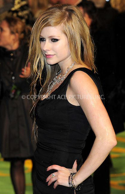 "WWW.ACEPIXS.COM . . . . .  ..... . . . . US SALES ONLY . . . . .....February 25 2010, New York City....Avril Lavigne at the UK premiere of ""Alice in Wonderland"" on February 25 2010 in London......Please byline: FAMOUS-ACE PICTURES... . . . .  ....Ace Pictures, Inc:  ..tel: (212) 243 8787 or (646) 769 0430..e-mail: info@acepixs.com..web: http://www.acepixs.com"