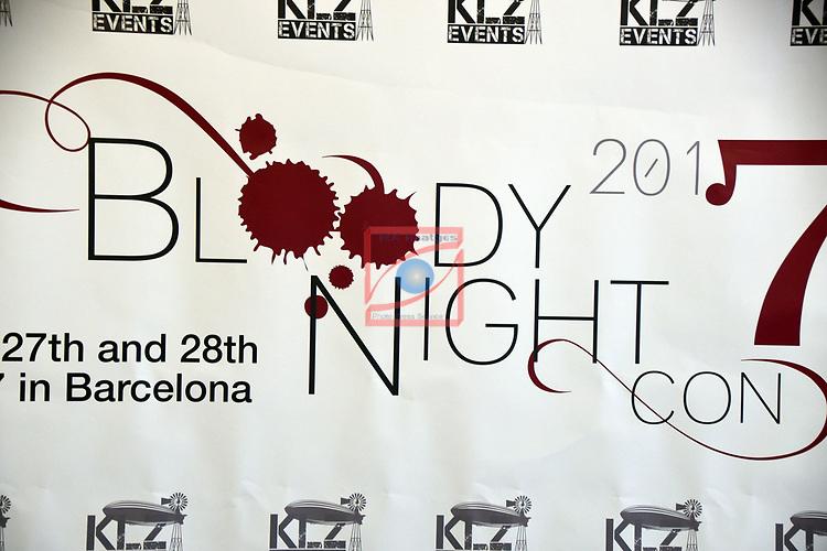 Press Conference BloodyNightCon España 2017.