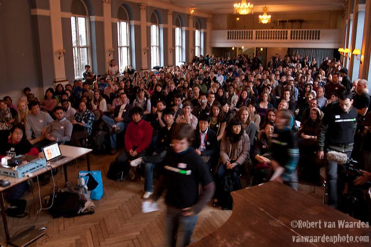 Conference of Youth, COP 15, Denmark (©Robert vanWaarden