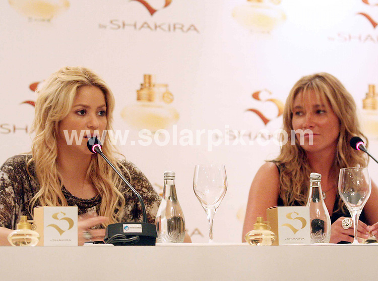 **ALL ROUND PICTURES FROM SOLARPIX.COM**                                             **WORLDWIDE SYNDICATION RIGHTS EXCEPT SPAIN & SOUTH AMERICA - NO SYNDICATION IN SPAIN OR SOUTH AMERICA**                                                                                  Caption:  Columbian pop singer Shakira gives a press conference before her concert at the Chilean pop festival  in Santiago in Chile.                                                                                This pic:                                                                                              JOB REF:12951        MPA       DATE:10.03.2011                                                            **MUST CREDIT SOLARPIX.COM OR DOUBLE FEE WILL BE CHARGED**                                                                      **MUST AGREE FEE BEFORE ONLINE USAGE**                               **CALL US ON: +34 952 811 768 or LOW RATE FROM UK 0844 617 7637**