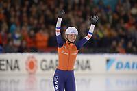 SCHAATSEN: HEERENVEEN: 15-12-2018, ISU World Cup, Mass Start Ladies, Irene Schouten (NED), ©foto Martin de Jong