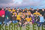 CHAMPIONS: The Listowel Emmets team winners of the Bernard O'Callaghan Memorial Senior Football Championship Final at Stack Park, Ballybunion on Sunday.