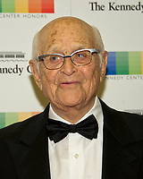 Norman Lear arrives for the formal Artist's Dinner honoring the recipients of the 40th Annual Kennedy Center Honors hosted by United States Secretary of State Rex Tillerson at the US Department of State in Washington, D.C. on Saturday, December 2, 2017. The 2017 honorees are: American dancer and choreographer Carmen de Lavallade; Cuban American singer-songwriter and actress Gloria Estefan; American hip hop artist and entertainment icon LL COOL J; American television writer and producer Norman Lear; and American musician and record producer Lionel Richie. Photo Credit: Ron Sachs/CNP/AdMedia