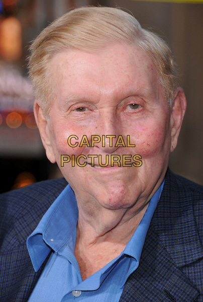 "SUMNER REDSTONE .Attends Paramount Pictures' L.A. Premiere of ""Iron Man"" held at The Chinese Theatre in Hollywood, California, USA, April 30th 2008..portrait headshot blue shirt.CAP/DVS.©Debbie VanStory/Capital Pictures"