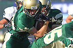 Manhattan Beach, CA 10/27/11 - \m30\ in action during the Peninsula vs Mira Costa Junior Varsity football game.