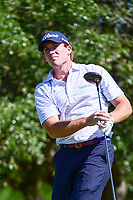 Robby Shelton (USA) watches his tee shot on 2 during round 4 of the Valero Texas Open, AT&amp;T Oaks Course, TPC San Antonio, San Antonio, Texas, USA. 4/23/2017.<br /> Picture: Golffile | Ken Murray<br /> <br /> <br /> All photo usage must carry mandatory copyright credit (&copy; Golffile | Ken Murray)