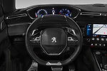 Car pictures of steering wheel view of a 2019 Peugeot 508 GT-Line 5 Door Wagon
