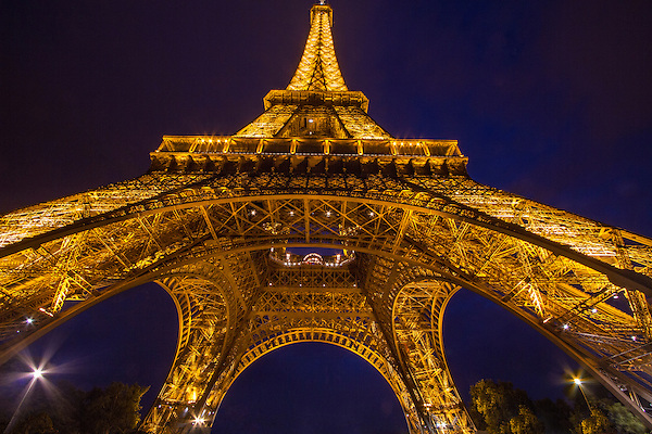 Eiffel Tower at night, Paris, France. .  John offers private photo tours in Denver, Boulder and throughout Colorado, USA.  Year-round. .  John offers private photo tours in Denver, Boulder and throughout Colorado. Year-round.