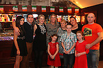 Marie Lynch (3rd from right, back row) birthday party in McHughs.<br /> Picture: Shane Maguire / www.newsfile.ie