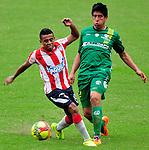 Barranquilla- Junior venció 1 gol por 0 a Equidad Seguros,  en el partido correspondiente a la fecha 13 del torneo Clausura 2014, desarrollado en el estadio Metropolitano Roberto Meléndez, el 5 de octubre.