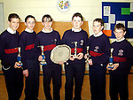 St. Mary's School, North East Schools Junior Golf Champions 1999..L to R, Barry Crinion, John Maher, Jason Somers (Captain), Alan Dunne, Andrew Collier and David O'Toole..Picture Paul Mohan Newsfile